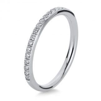 14 kt fehérarany félig köves eternity 21 gyémánttal 1B818W454-2