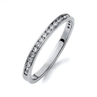 14 kt fehérarany félig köves eternity 22 gyémánttal 1M414W453-1