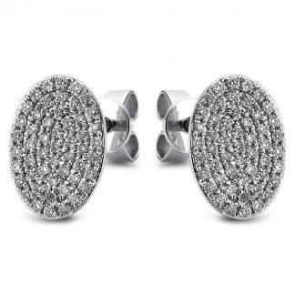 14 kt fehérarany steckeres 102 gyémánttal 2A467W4-1