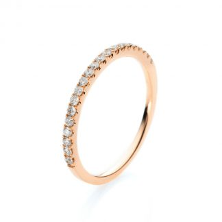 14 kt red gold multi stone with 21 diamonds 1A598R454-1