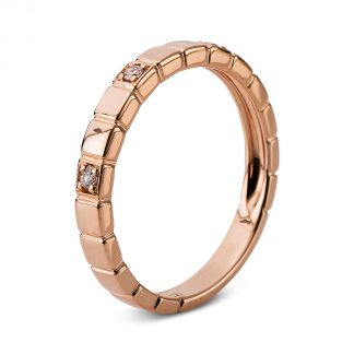 14 kt red gold multi stone with 3 diamonds 1B644R454-1