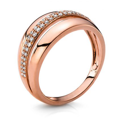 14 kt red gold multi stone with 50 diamonds 1B650R453-1