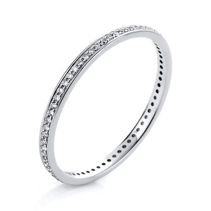 14 kt white gold eternity full with 69 diamonds 1A426W456-1