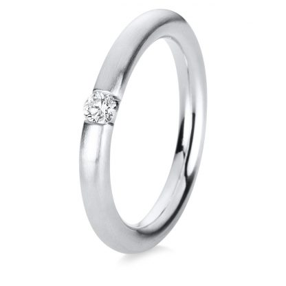 14 kt white gold solitaire with 1 diamond 1A043W453-4