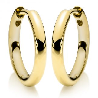 14 kt yellow gold hoops & huggies  2A159G4-1