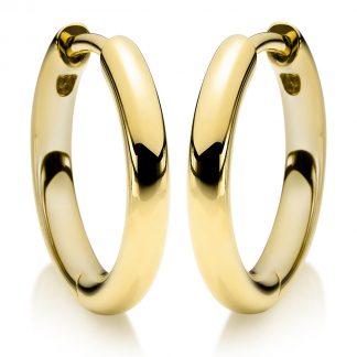 14 kt yellow gold hoops & huggies  2A159G4-1