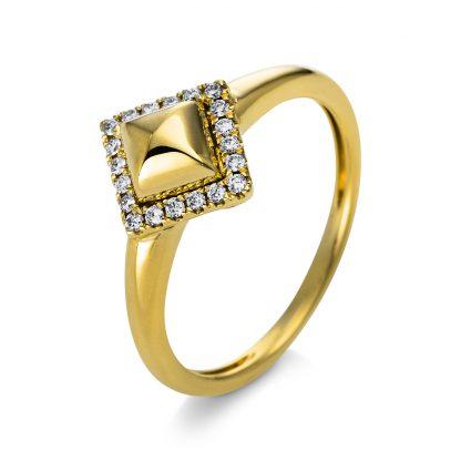 14 kt yellow gold multi stone with 20 diamonds 1Q814G454-1