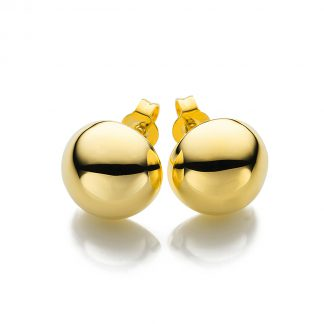 14 kt yellow gold studs  2A005G4-1