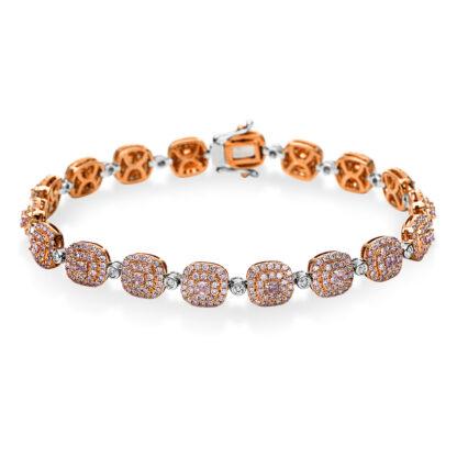 18 kt  bracelet with 540 diamonds 5B904WR8-1