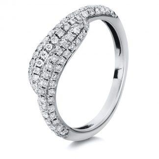 18 kt fehérarany pavé 108 gyémánttal 1A052W854-1