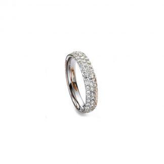 18 kt fehérarany pavé 59 gyémánttal 1H307W855-1