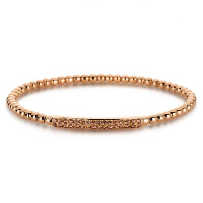 18 kt red gold bracelet with 32 color stones 5A012R8-1