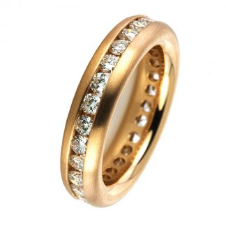 18 kt red gold eternity full  1B884R854-1