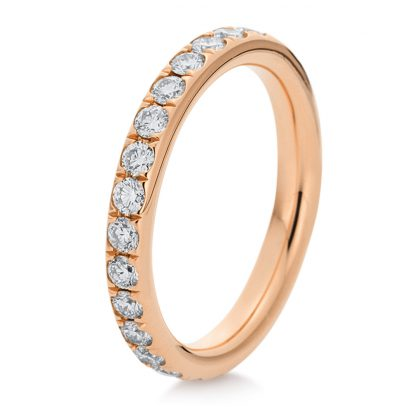 18 kt red gold eternity full with 28 diamonds 1B824R853-1