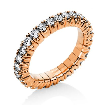 18 kt red gold eternity full with 29 diamonds 1N236R853-2