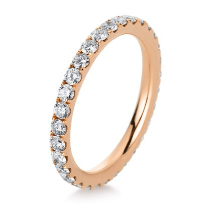 18 kt red gold eternity full with 31 diamonds 1A962R852-1