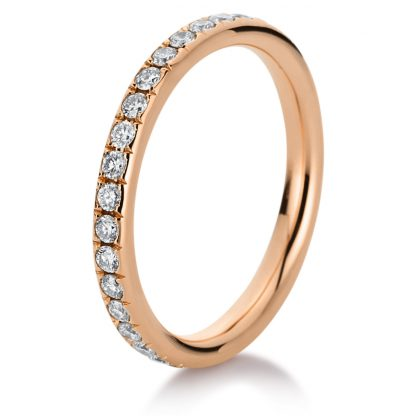 18 kt red gold eternity full with 35 diamonds 1C379R854-1