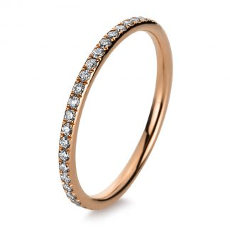 18 kt red gold eternity full with 44 diamonds 1B831R853-1
