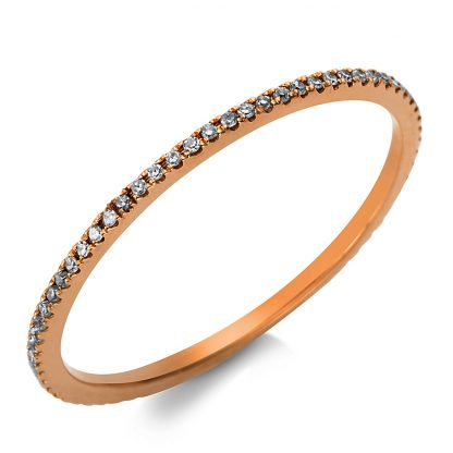 18 kt red gold eternity full with 67 diamonds 1T490R855-1