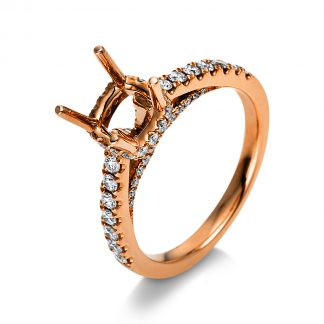 18 kt red gold mounting with 64 diamonds 1S615R853-1