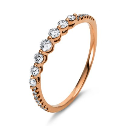 18 kt red gold multi stone with 21 diamonds 1N575R854-3