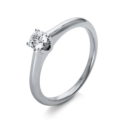 18 kt  solitaire with 5 diamonds 1O256WP855-1