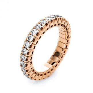 18 kt vörös arany körbe köves eternity 30 gyémánttal 1J195R853-12