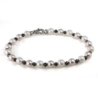 18 kt white gold bracelet  5A041W8-1