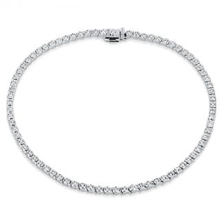 18 kt white gold bracelet with 76 diamonds 5A267W8-1