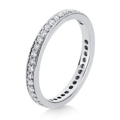 18 kt white gold eternity full  1B893W852-3