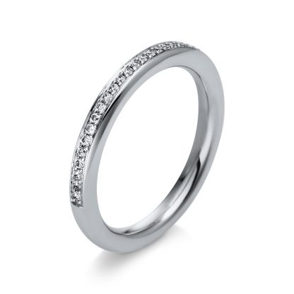 18 kt white gold eternity full with 27 diamonds 1S301W855-1