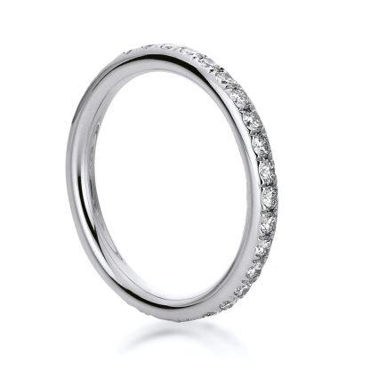 18 kt white gold eternity full with 28 diamonds 1B824W854-2