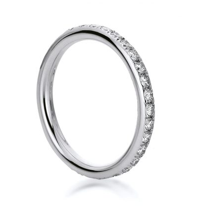 18 kt white gold eternity full with 28 diamonds 1B824W854-3