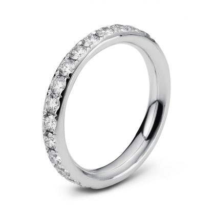 18 kt white gold eternity full with 29 diamonds 1C360W854-4