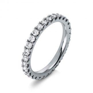 18 kt white gold eternity full with 30 diamonds 1P960W853-3