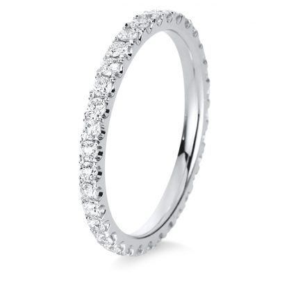 18 kt white gold eternity full with 34 diamonds 1C418W854-1