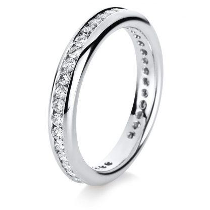 18 kt white gold eternity full with 38 diamonds 1B872W852-2