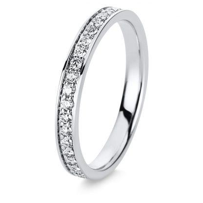 18 kt white gold eternity full with 39 diamonds 1D141W854-1