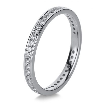 18 kt white gold eternity full with 43 diamonds 1A473W853-1