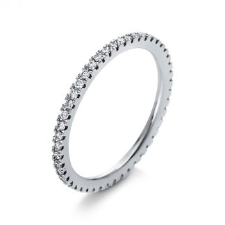 18 kt white gold eternity full with 47 diamonds 1K437W854-1