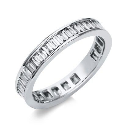 18 kt white gold eternity full with 50 diamonds 1A951W852-6
