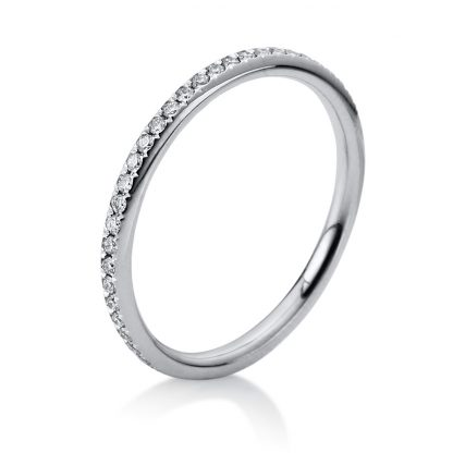 18 kt white gold eternity full with 50 diamonds 1B832W854-6