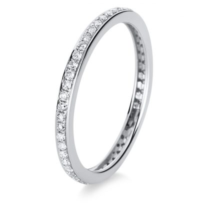 18 kt white gold eternity full with 54 diamonds 1A890W858-1