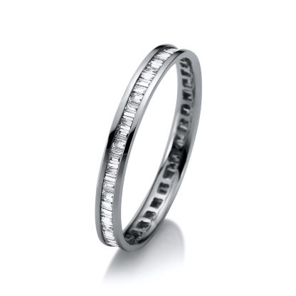 18 kt white gold eternity full with 65 diamonds 1A950W854-3