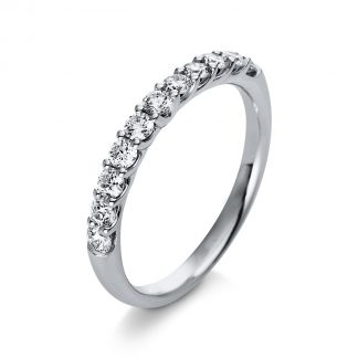 18 kt white gold eternity half with 11 diamonds 1Q771W854-1