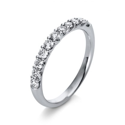 18 kt white gold eternity half with 11 diamonds 1Q771W854-1