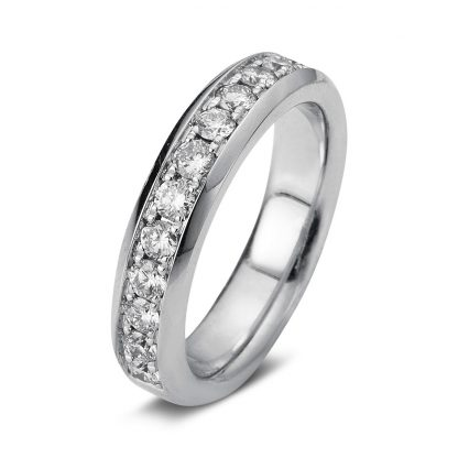 18 kt white gold eternity half with 13 diamonds 1A026W854-3