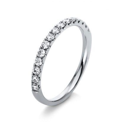 18 kt white gold eternity half with 15 diamonds 1A928W854-1