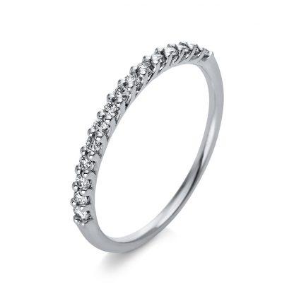 18 kt white gold eternity half with 15 diamonds 1Q768W854-1