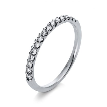 18 kt white gold eternity half with 15 diamonds 1Q784W854-1